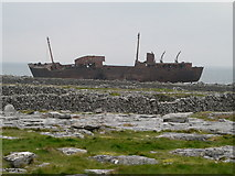 L9901 : Wreck of the 'Plassy'. Inisheer by Aiden Clarke