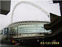 TQ1985 : Wembley Stadium by Mr M Evison