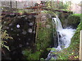 NY5635 : Mill wheel and overflow, Little Salkeld Corn Mill by Humphrey Bolton