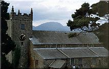 SD3598 : Hawkshead Church by mike hancock