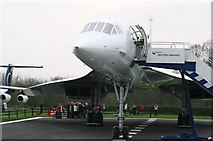 SJ8184 : Manchester Airport & Concorde by Alan Pennington