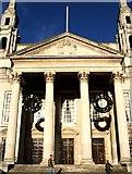 SE2934 : Leeds Civic Hall  Frontage by Steve Partridge