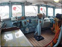 NT2677 : The Royal Yacht Britannia, Leith, Scotland by Alan Pennington