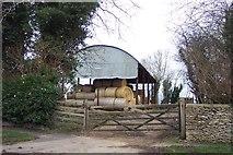 SP2604 : Barn at Home Farm by Jonathan Billinger