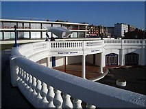 TQ7407 : The Colonnade on Bexhill Seafront by Nigel Stickells