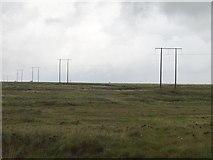 M6700 : Powerlines, Slieve Aughty by Richard Webb