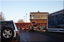 TL4197 : Waiting at the level crossing by Jonathan Billinger