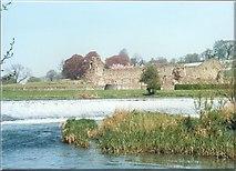 SE7365 : Kirkham Weir on River Derwent by Gordon Hatton