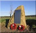 NT9433 : RAF Milfield war memorial by Walter Baxter