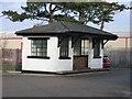 SJ3464 : The Redundant Broughton and Bretton Station Waiting Room by John S Turner