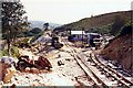 SH6742 : Moelwyn Tunnel construction site by David Stowell