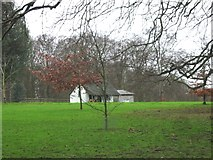 TR3153 : Cricket Pavilion, Eastry cricket ground by Nick Smith