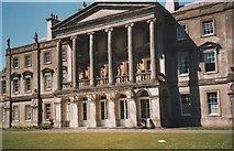 SH4555 : The grand portico of Plas Glynllifon by Eric Jones