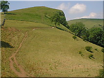 SK0954 : Approaching Thor's Cave From Wetton by Alan Heardman