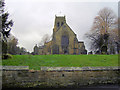NZ2079 : Church at Stannington by george hurrell