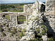 SK7954 : Within the ruins of Newark Castle by Joan Priestley