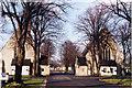 TQ3982 : East London Crematorium by Bilbo