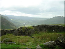 NY2201 : Hardknott Pass towards Eskdale by rob bishop
