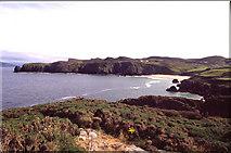 C2347 : View of Pincher Bay from Fanad Head by Kieran Evans