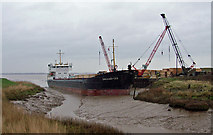 "TA0623 : The ""Omskiy-133"" at Barrow Haven by David Wright"
