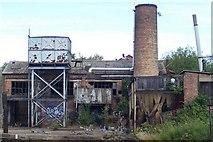 TQ1883 : Derelict Factory - Alperton by Russell Trebor