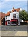 SE8741 : Butcher Shop, York Road Market Weighton by Colin Westley