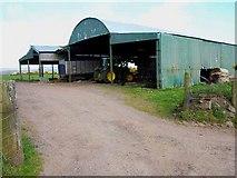 NX1057 : Barn at Mahaar by Oliver Dixon