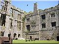 SN0403 : Internal view of Carew castle by Hefin Richards