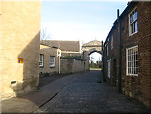 SK8608 : The street to Oakham Castle by Paul Whittington
