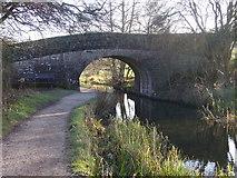 SK3056 : Bridge No 1 Cromford Canal by Tony Bacon