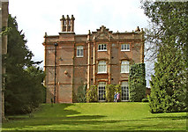 SU8695 : Side view of Hughenden Manor, Buckinghamshire by Christine Matthews