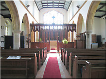 TG0934 : St Peter & St Paul, Edgefield, Norfolk - East end by John Salmon