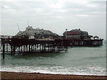 TQ3003 : West Pier by Marc Cohen