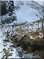 SH7815 : Descent from Cribin Fawr towards Waun-oer by Barry Hunter