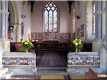 TG0135 : St Mary, Gunthorpe, Norfolk - Chancel by John Salmon