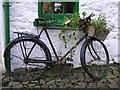 J3996 : Old bike at Gleno by Kenneth  Allen