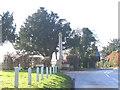 TQ6768 : Cobham Village war memorial by Stephen Craven
