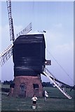 SO9568 : Windmill at Avoncroft Museum by John H Darch