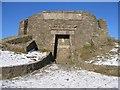 SJ1662 : Moel Famau Jubilee Tower - South Face by John S Turner