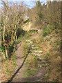 SP9721 : Footpath to the Totternhoe Castle by Marc Cohen