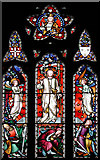 TQ9258 : St Catherine, Kingsdown, Kent - Window by John Salmon