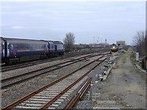 SU1585 : Swindon railway by Roger Cornfoot