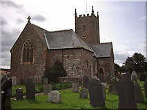 SS5318 : St Giles in the Wood Church by Bernice
