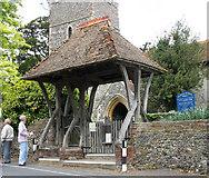 TR2656 : St James the Great, Staple, Kent - Lychgate by John Salmon