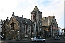 SX3384 : Launceston Town Hall and Guildhall by Tony Atkin