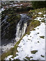 NT8811 : Waterfall on the Usway Burn by Kenneth   Ross
