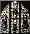 TL1344 : St Leonard, Old Warden, Beds - Window by John Salmon