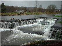 SY8888 : Weir at Trigon Farm by ANDY FISH