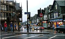 NY3704 : Looking Down Compston Road by Mick Garratt