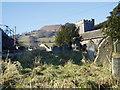 SO2320 : Llanbedr Church and Table Mountain by Ian Rushin